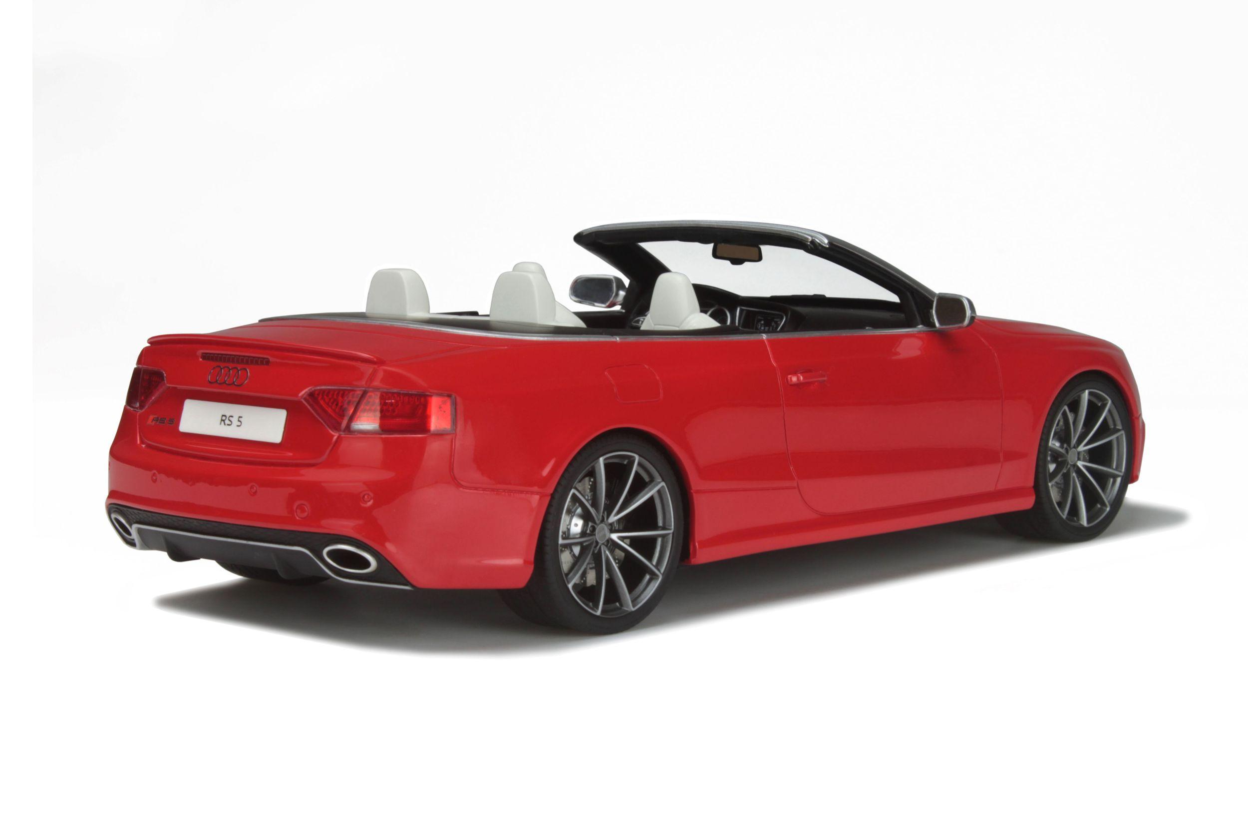 Audi Rs 5 Convertible Model Car Collection Gt Spirit