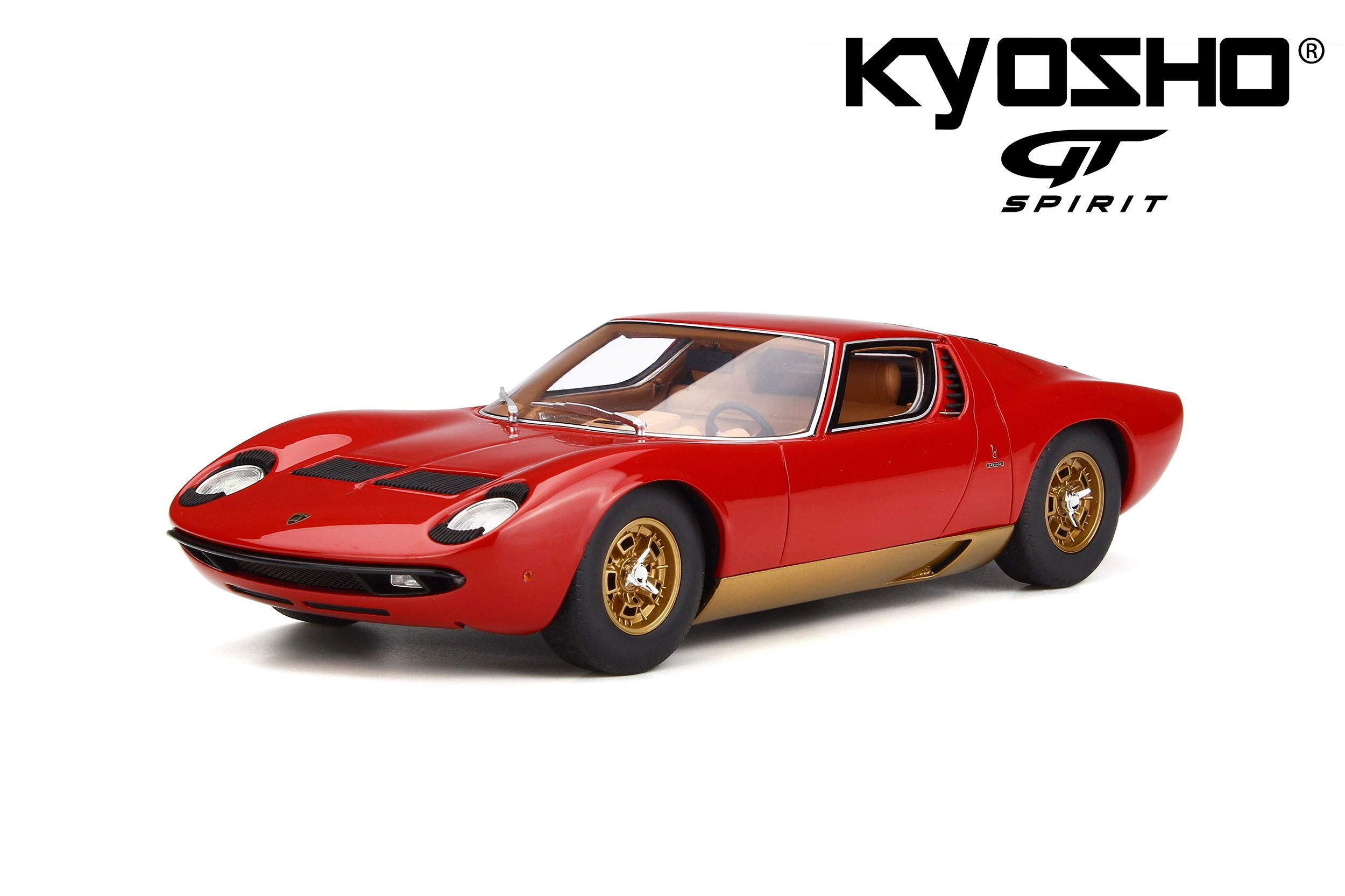 Lamborghini Miura P400s Model Car Collection Gt Spirit