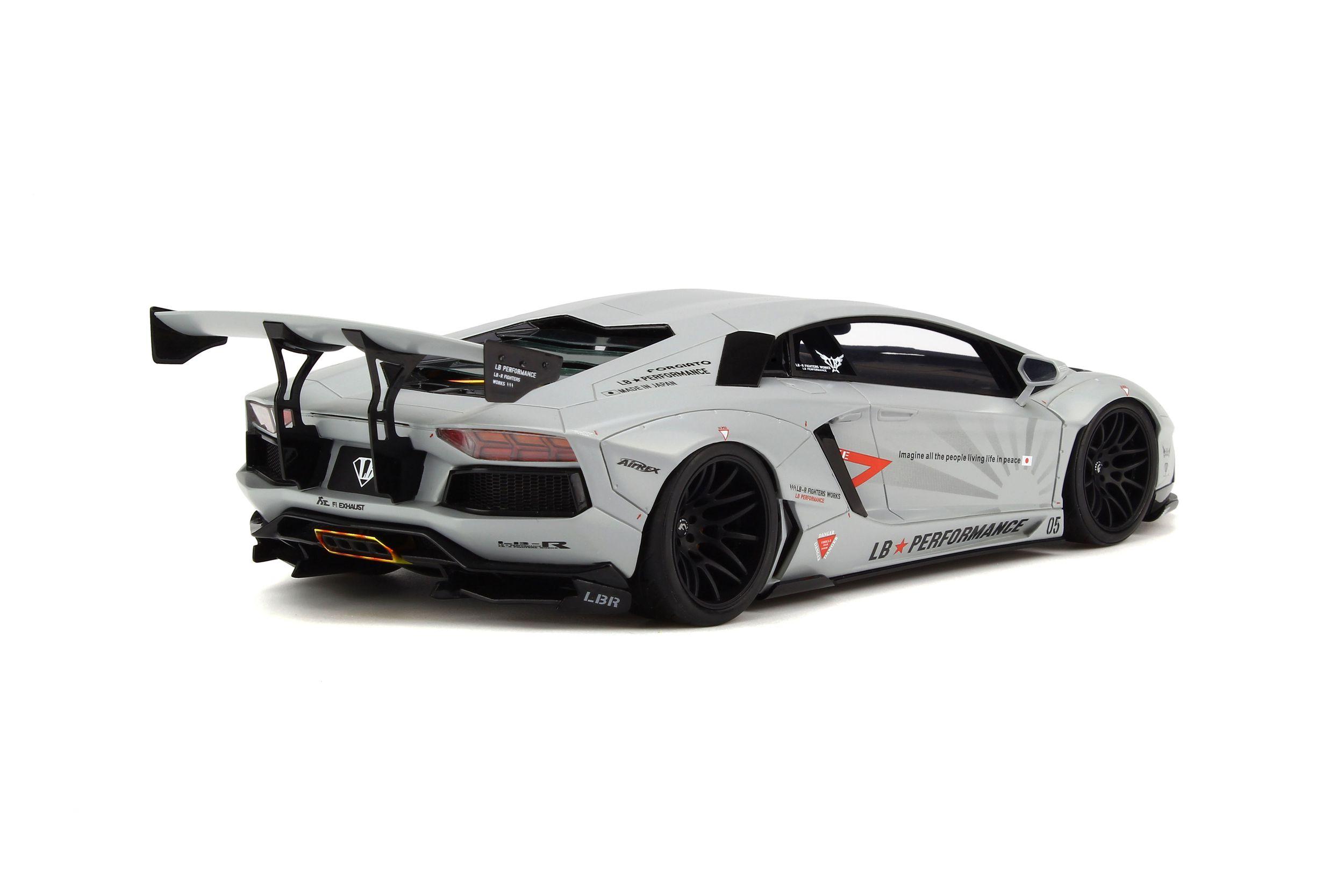 Lb Lamborghini Aventador Voiture Miniature De Collection Gt Spirit
