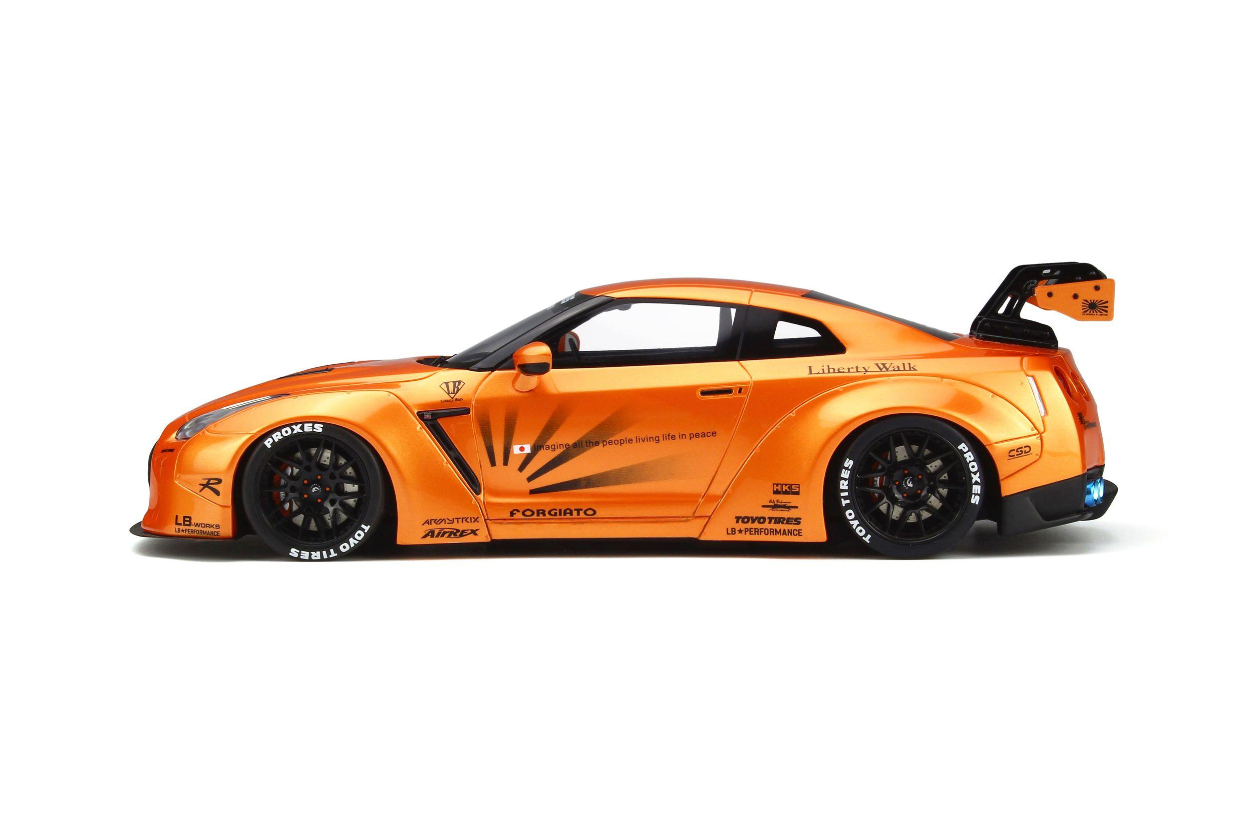 LB Nissan GTR R35 - Model car collection   GT SPIRIT