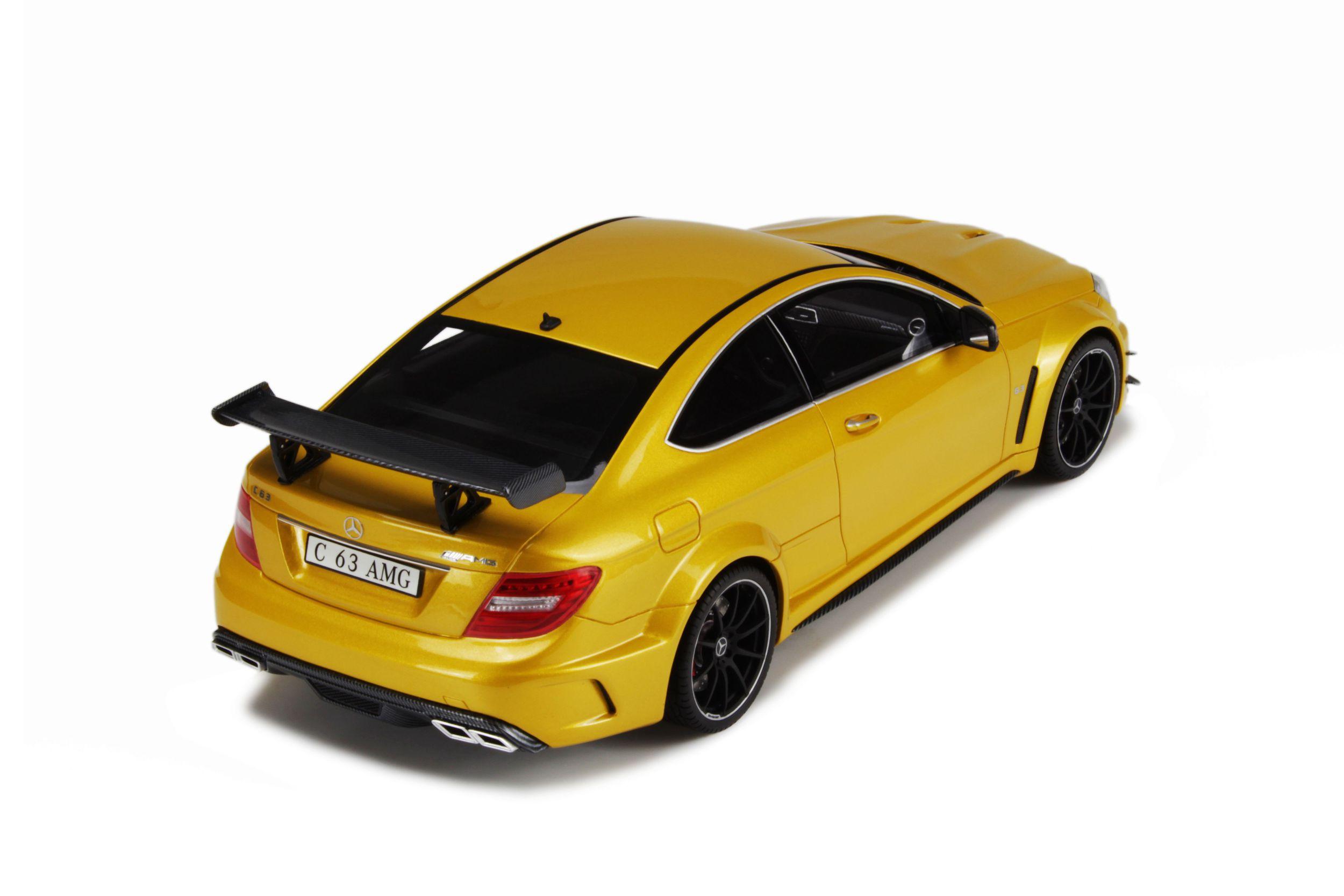 Mercedes Benz C63 AMG Black Series Model car collection