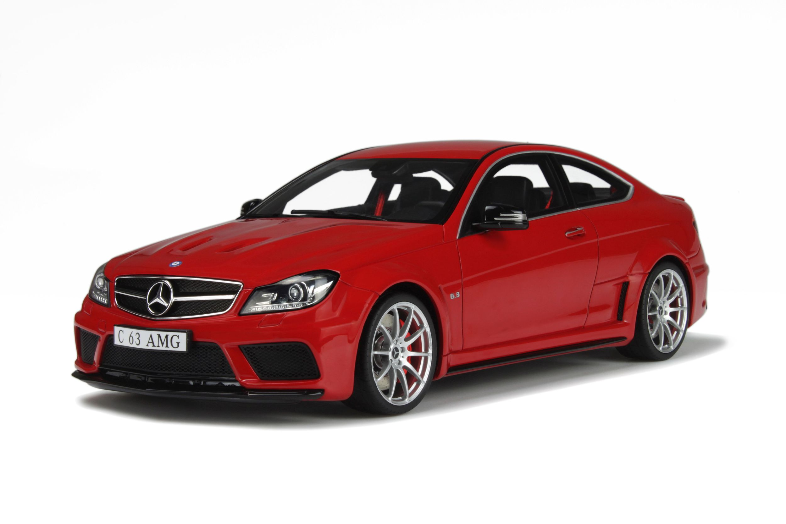 Mercedes Benz C63 AMG Black Series Model car collection