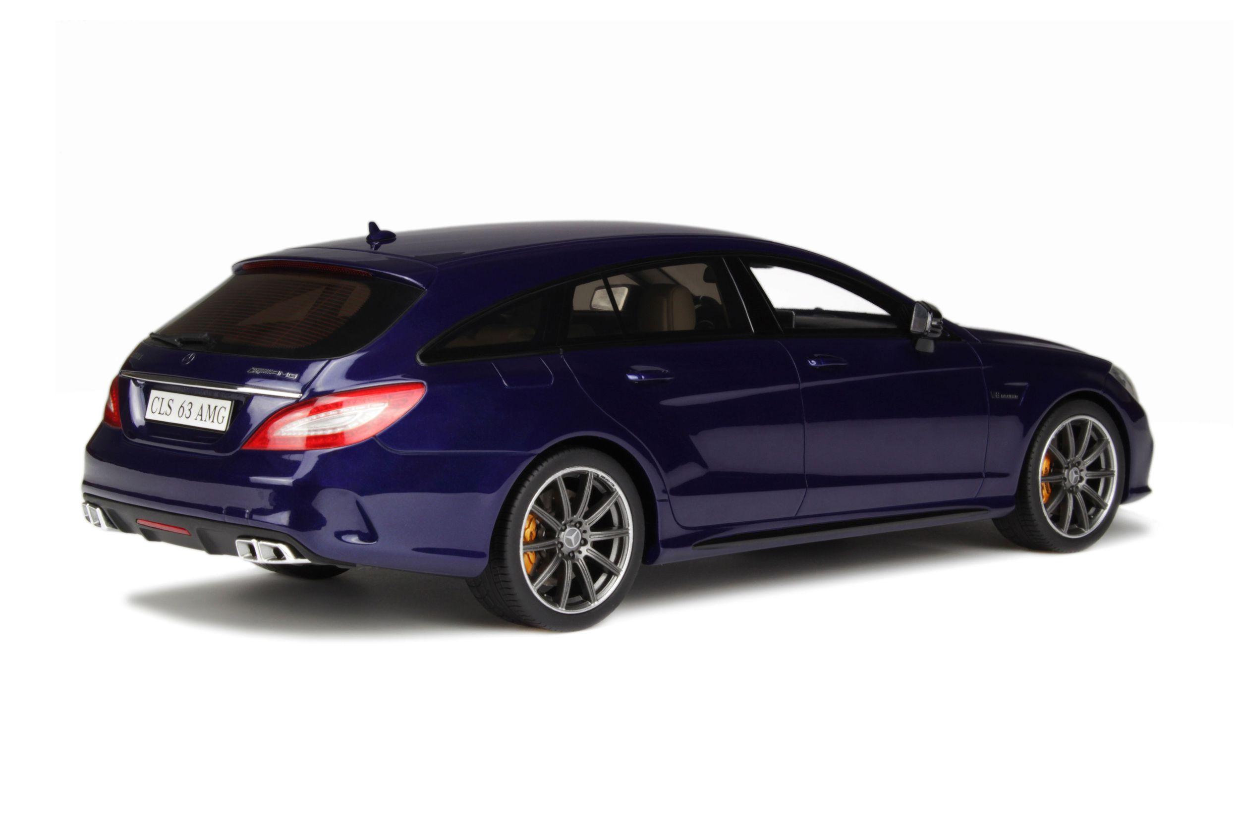 mercedes-benz cls 63 amg shooting brake - model car collection | gt