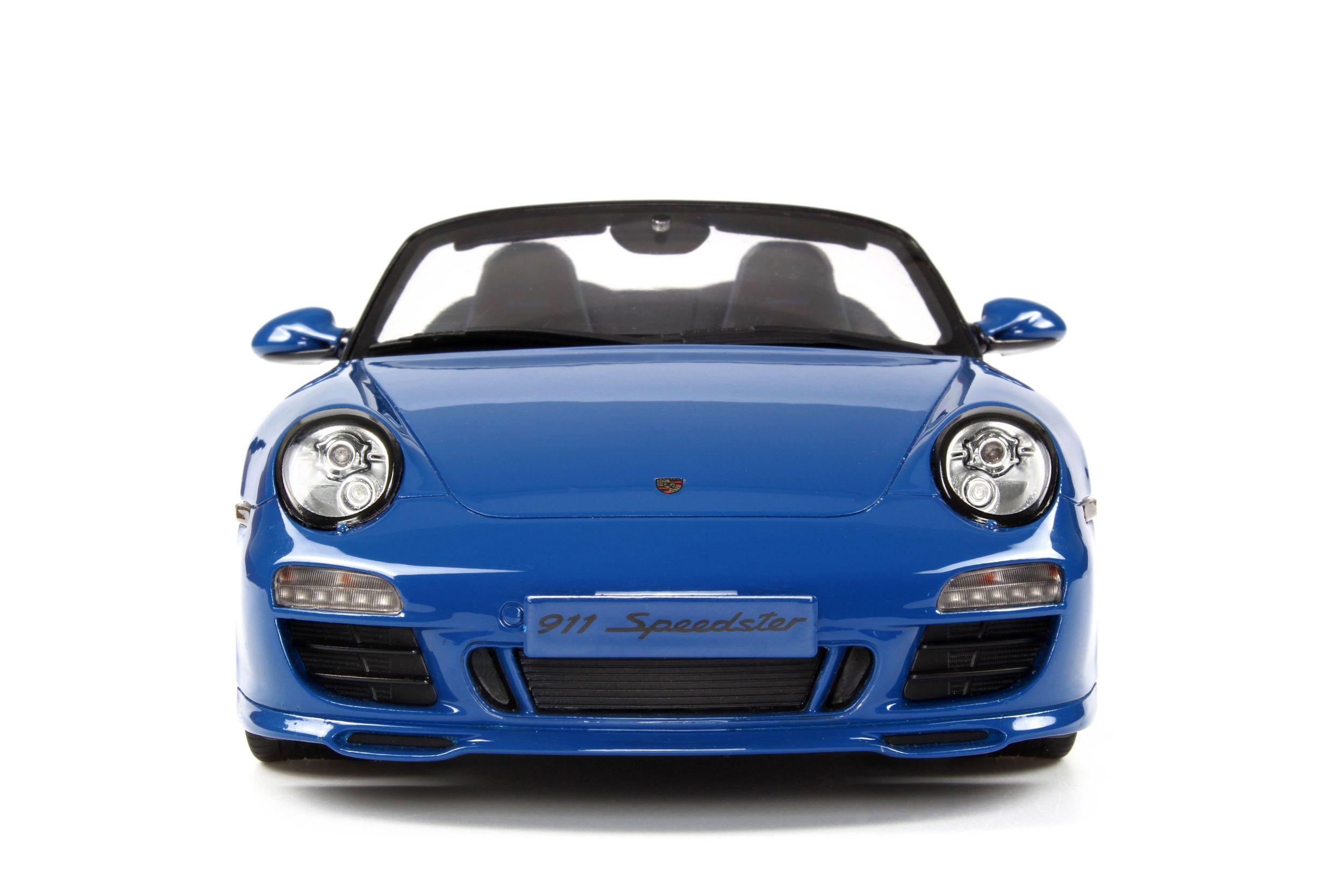 Porsche 911 997 Speedster Model Car Collection Gt Spirit