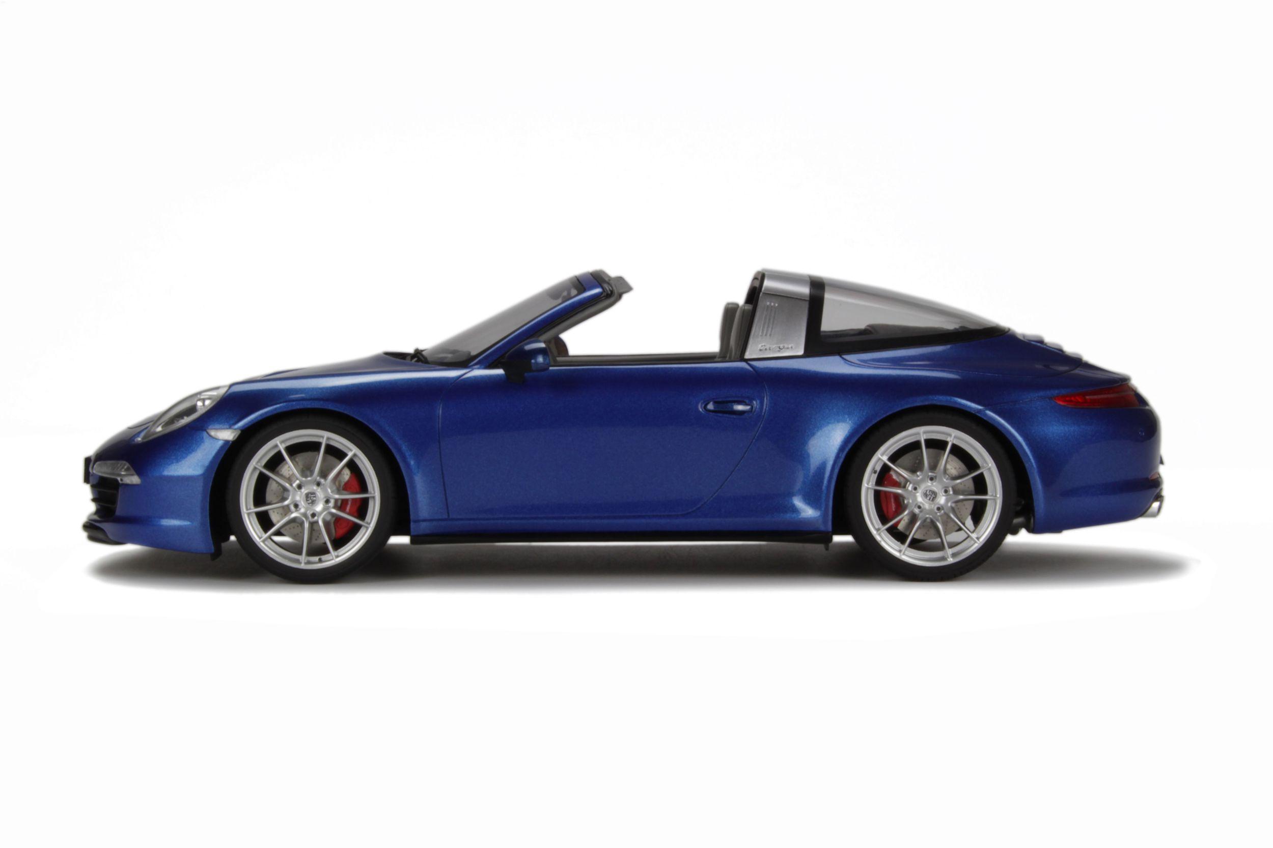 Porsche Targa 4S >> Porsche 911 (991) Targa 4S - Voiture miniature de ...