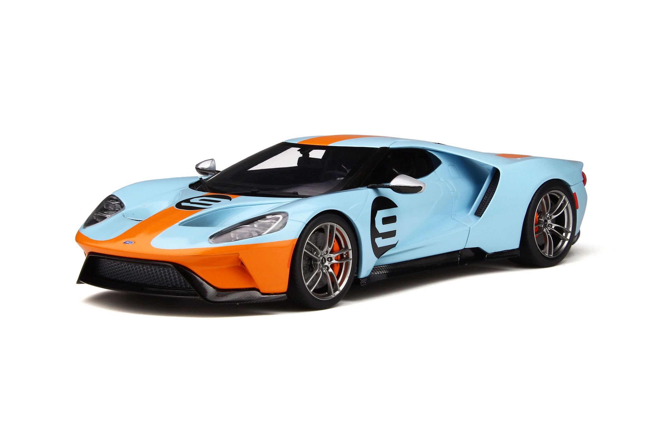Ford Gt Heritage Edition Model Car Collection Gt Spirit