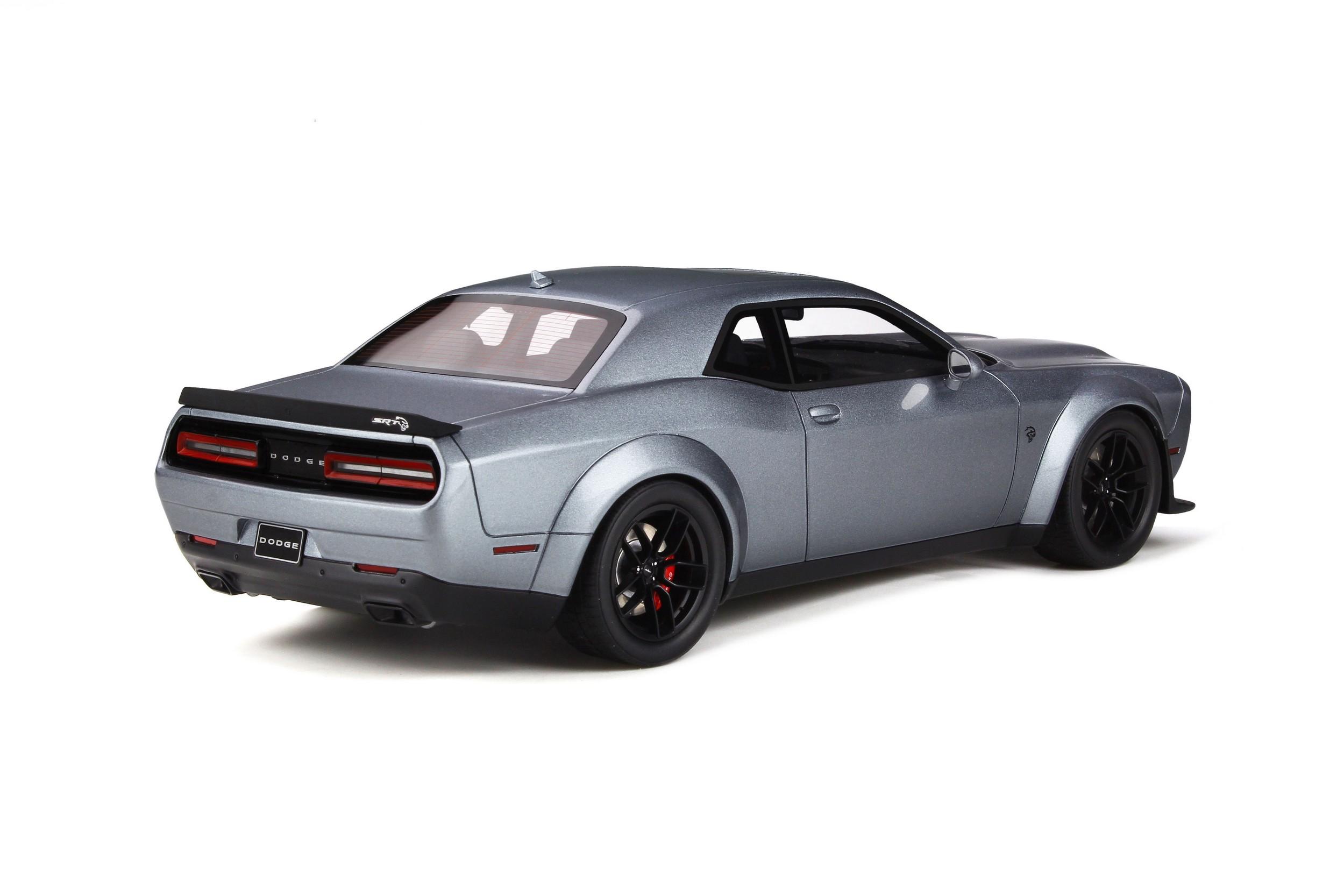 Dodge Challenger Srt Hellcat Redye Model Car Collection Gt Spirit