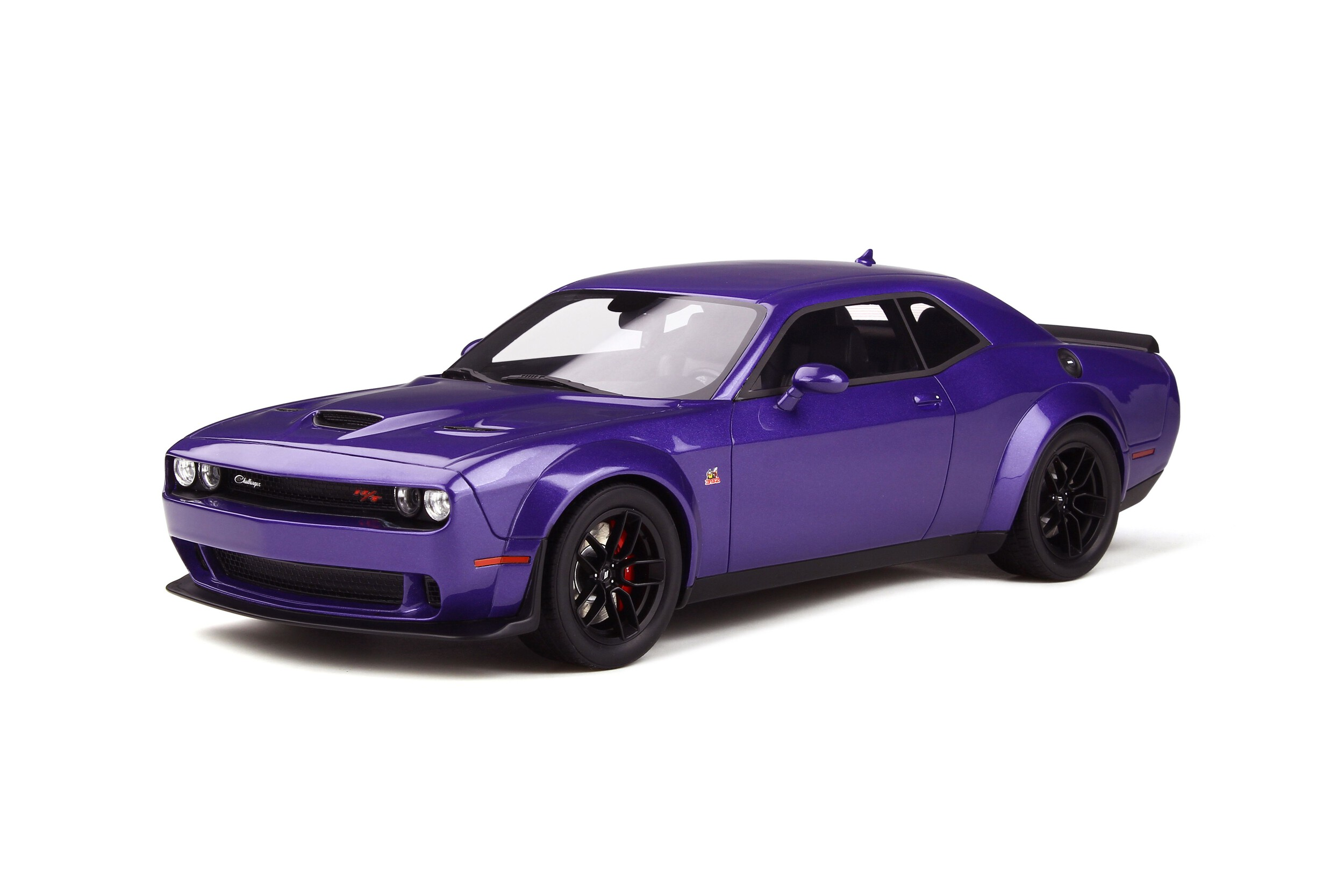 dodge charger scat pack toy car DODGE CHALLENGER R/T SCAT PACK WIDEBODY - Model car collection